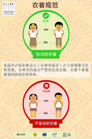 dress code in Chinese
