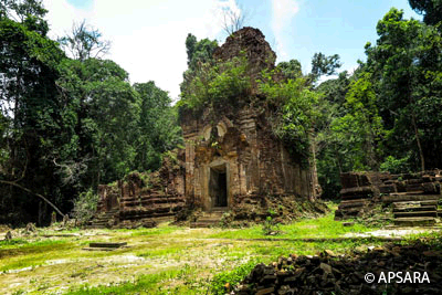 Site of Royal Palace, Prasat Neak Ta,Thnorl Mrech, Prasat Damrei Krap, River of Thousand linga, rock carvings, rock-carved Buddha