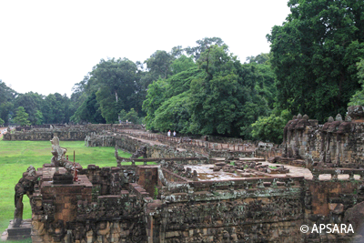 THE TERRACE OF THE ELEPHANTS