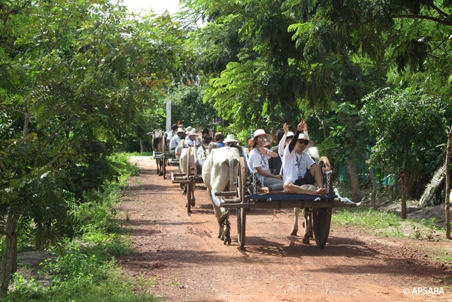 Ride an ox cart – image 3